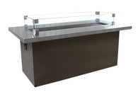 Key West Coffee Table Stainless Steel