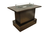 Key West Bar Table Brown
