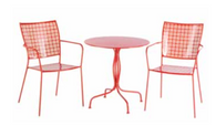 Martini Iron Bistro Set Cherry Pie