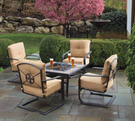 Canyon Fire Furniture Table Set