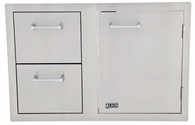 Lion Door/Drawer Combo W/ Towel Rack L3320