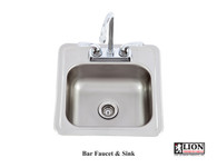 Lion Bar Faucet & Sink 54167