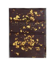70% Caribbean Gold Treasure Chocolate Bar 50g