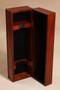 Wooden Wine Box - holds one standard bottle of wine.