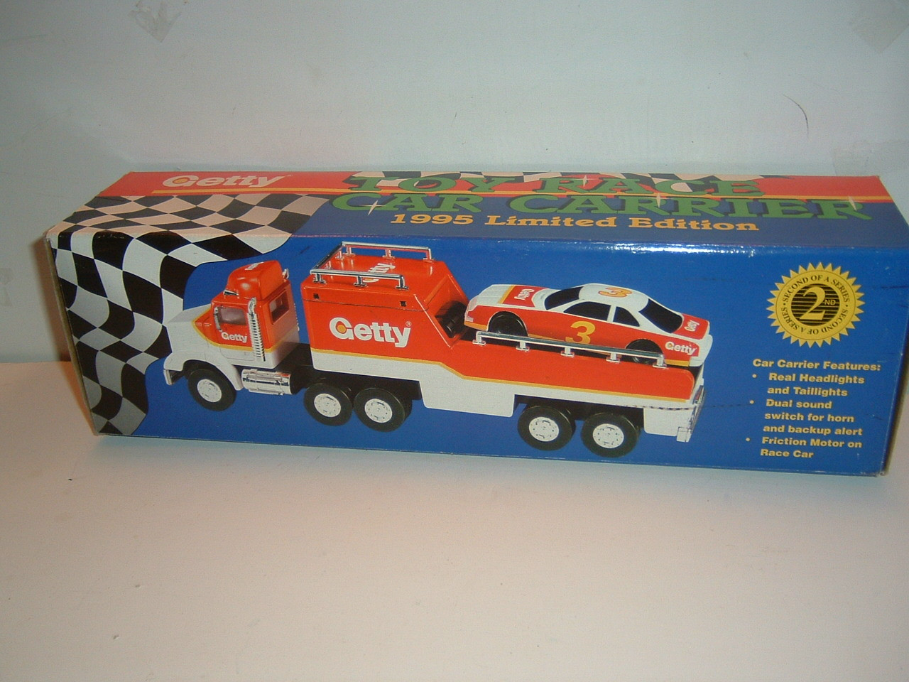 Toy Race Trucks : Getty toy truck race car carrier le new