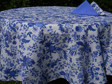 Versailles in Blue Table Cloth