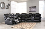 Vacherie Black Sectional