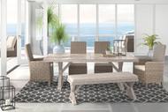 Beachcroft Beige 6 Pc. Sectional Lounge Set