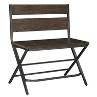 Kavara Medium Brown Double Barstool