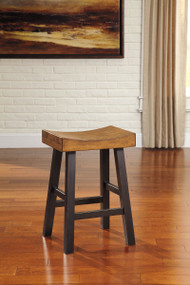 Glosco Brown Saddle Stool
