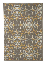 Savery Brown with Gold Medium Rug