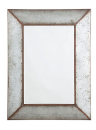 O'Tallay Antique Gray Accent Mirror