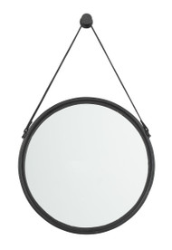 Dusan Black Medium Accent Mirror