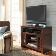 Harpan Reddish Brown TV Stand