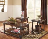 Murphy Medium Brown Occasional Table Set