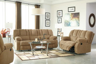 Roan Mocha 3 Piece Reclining Sofa, Reclining Loveseat & Rocker Recliner