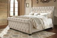 Willenburg Linen King Upholstered Bed