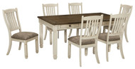 Bolanburg Antique White 7 Pc. Rectangular Dining Set