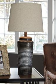 Norbert Gray Metal Table Lamp (2/CN)