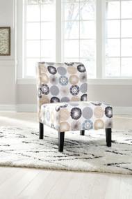Triptis Gray/Tan Accent Chair