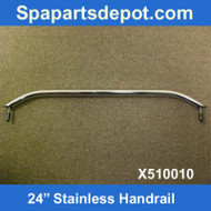 "Master Spas H2X 24"" Stainless Handrail X510010"