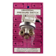 Len Gordon Low Profile Pressure Switch 1Amp 2.2 PSI (NO LONGER AVAILABLE USE 800320-3)