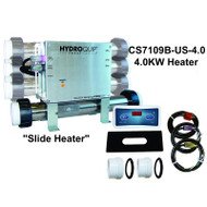 "HydroQuip / Balboa Lite Leader Spa Hot Tub ""SLIDE"" Heater 4.0KW, 1 Pump,  Part # CS7109B-US-4.0"