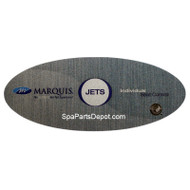 MARQUIS TOPSIDE CONTROL OVERLAY ONLY 650-0686