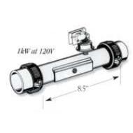 """Balboa 1.0KW, 120V, 8.5"""", 1.5"""" Heater, Part # 50069 / 58025"""