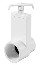 Magic Plactics Uni-Body Spa Hot Tub Valve Slip x Spigot