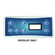 Balboa Overlay Label, ML551 P1/P2/BL, Part # 11609