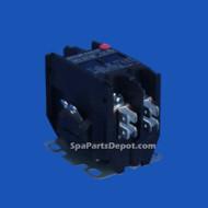 Hydro Quip Contactor, DPST, 240V, 40/50A, - 35-0028