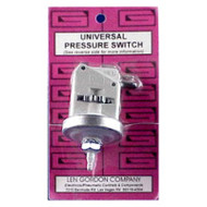 *Len Gordon Low Profile Pressure Switch 21Amp 2.2 PSI