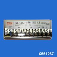 Master Spas Stereo Power Supply X551267