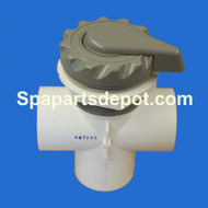 "Master Spas 2"" Scallop Diverter Valve Grey  Year 96 -98 X279120"