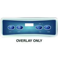 Balboa Overlay Label, VL401 P1/LT/DN/UP, Part # 11885