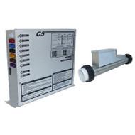 CONTROL: C5R 240V W/4.0KW REMOTE HEATER, TOPSIDE & CORDS