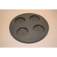 "Freeflow Spas Small Round Filter Lid With Cup Holders 10 3/4"""", Part # 303204"