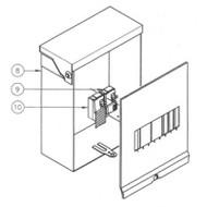Caldera Spas 5 Wire GFCI (1) 30Amp & (1) 20Amp Breaker - 301757