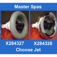 """Master Spas 5"""" Power Storm Twin Roto With M.S. Logo Grey Or Stainless"""