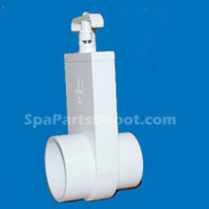 "Magic Plastics Spa Hot Tub Valve 2.5"" Slip X 2.5"" Spigot - 0412-25"