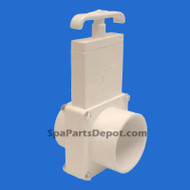 "Magic Plastic Slice Valve 2""S x 2""SPG 3-Pc MFG # 0112-20"