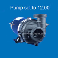 Dimension One Replacement Pump 3.6HP SPL 1-Speed 230V, 12:00 BN51 - 01562-40