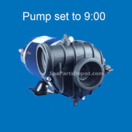 Dimension One Replacement Pump 3.6HP 2-Speed 230V 9:00 Sta-Rite BN51  - 01562-39C