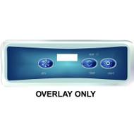 Balboa Overlay Label, VL401 P1/TEMP/LT, Part # 10839
