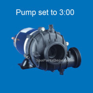Dimension One Replacement Pump 1.5hp, 2-Speed, 110V, 3:00 Sta-Rite BN60 - 01562-21