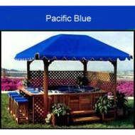 Gazebo COVER for Pacifica III, Pacific Blue