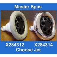 "Master Spas  5"" Power Storm Massage With M.S. Logo Grey or stainless"