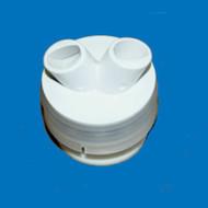 Hydro Air Maggna'ssage Dual Roto White 56-4820WHT