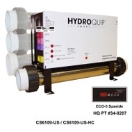 Hydro Quip CS6109 Digital Spa Control, Slide Series - CS6109-US